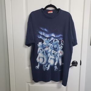 VINTAGE COKE 1994 Polar Bears T-Shirt